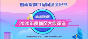 湖湘好网民2020年度新风大典评选